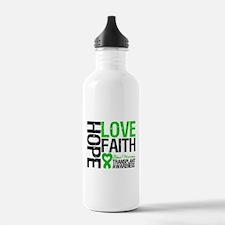 BMT Hope Love Faith Water Bottle