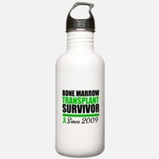 BMT Survivor Since '09 Water Bottle