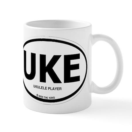 Ukulele Player, UKE Mugs