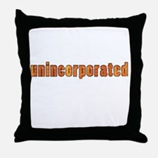 Unincorporated Throw Pillow