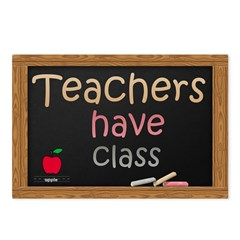 Teachers Have Class Postcards (Package of 8)