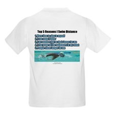 Distance Swimmer Kids T-Shirt