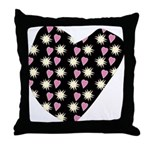 Love Fireworks Throw Pillow