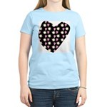 Love Fireworks Women's Pink T-Shirt