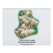 Cute Breeder Wall Calendar