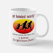 Support Minuteman Project Mug