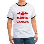 Made in Canada Ringer T