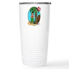 Cool Tiki king Travel Mug