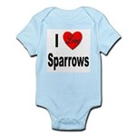 I Love Sparrows Infant Creeper