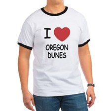 I heart oregon dunes T