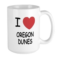 I heart oregon dunes Mug