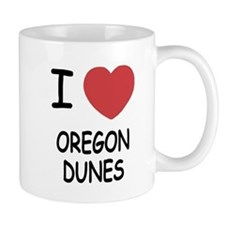 I heart oregon dunes Mug