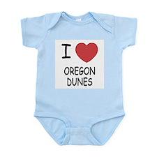 I heart oregon dunes Infant Bodysuit