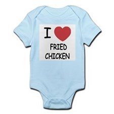 I heart fried chicken Infant Bodysuit