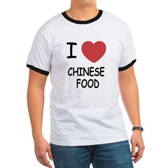 I heart chinese food Ringer T