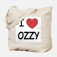 I heart ozzy Tote Bag