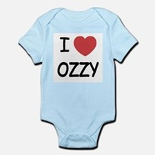 I heart ozzy Infant Bodysuit