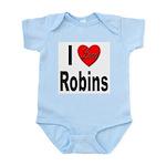 I Love Robins Infant Creeper