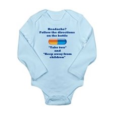 Take Two Long Sleeve Infant Bodysuit