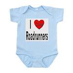 I Love Roadrunners Infant Creeper