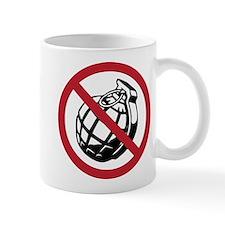 No Grenades Small Mug