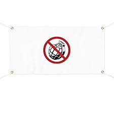 No Grenades Banner
