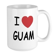 I heart guam Mug