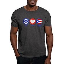 Paz Amor Puerto Rico T-Shirt