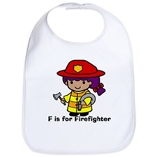 F is for Firefighter Bib