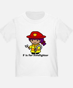 F is for Firefighter T