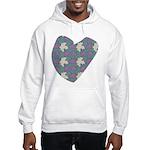Maple Leaves Hooded Sweatshirt