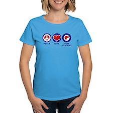 Peace Love New Zealand Tee