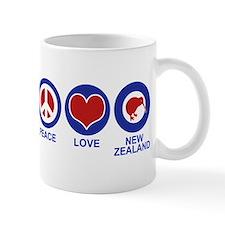 Peace Love New Zealand Mug