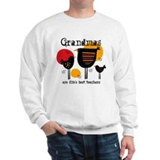Grandma Life's Best Teacher Sweatshirt