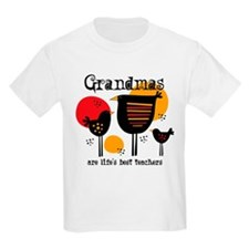 Grandma Life's Best Teacher T-Shirt