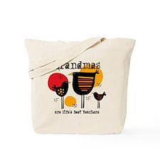 Grandma Life's Best Teacher Tote Bag