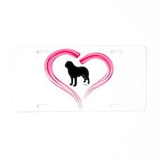 Love My Saint Aluminum License Plate