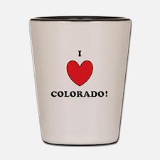Cute Denver colorado Shot Glass