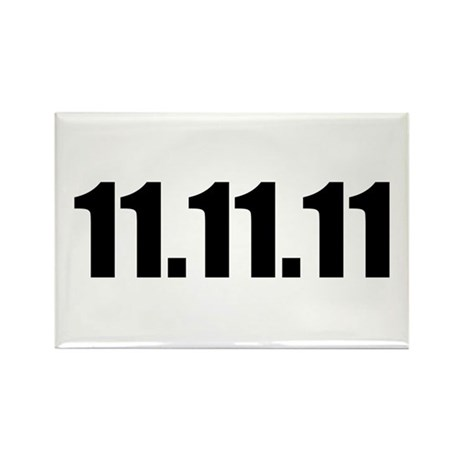11.11.11 Rectangle Magnet