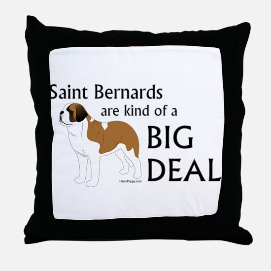 Saints are a Big Deal Throw Pillow