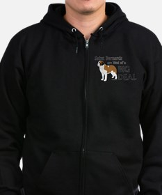 Saints are a Big Deal Zip Hoodie (dark)