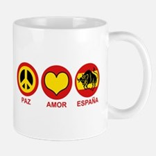 Paz Amor Espana Mug