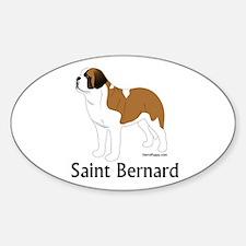Saint Bernard Decal