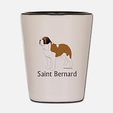 Saint Bernard Shot Glass