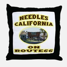 Needles California Throw Pillow