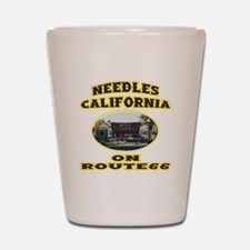 Needles California Shot Glass