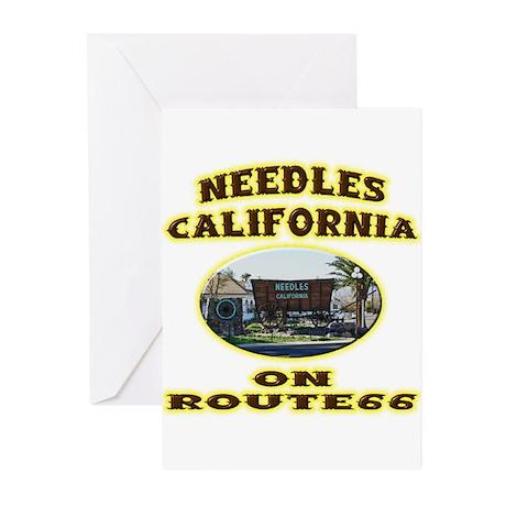 Needles California Greeting Cards (Pk of 20)