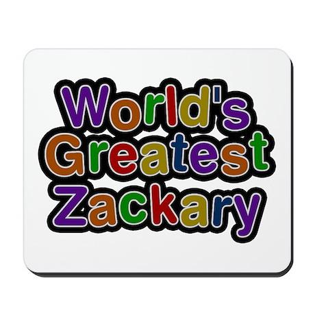 World's Greatest Zackary Mousepad