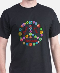 Peace Love Tennessee T-Shirt