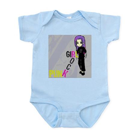 Punk Rock Girl Infant Creeper